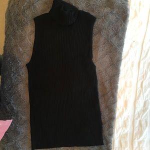 Express sleeveless turtleneck sweater